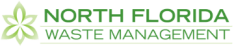 Image of North Florida Waste Management's Logo for dumpster rentals