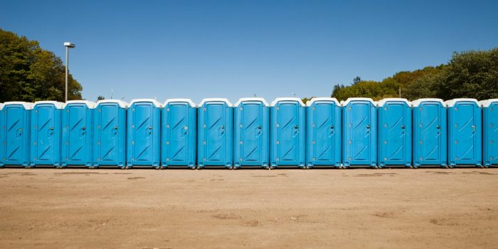 Image of a porta potty rental in Jacksonville FL